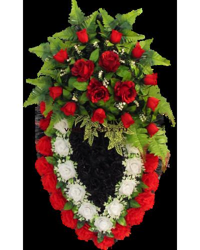 Капля с красными розами