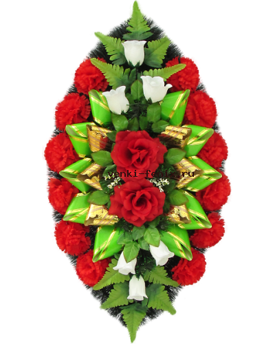 Четыре розы сбутонами