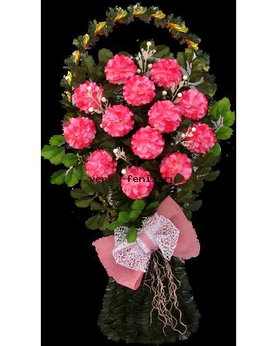 Корзина Капля средняя на розах